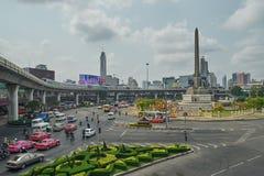 Stadtbild von Bangkok Stockbild