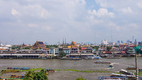 Stadtbild von Bangkok Lizenzfreies Stockfoto