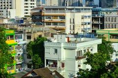 Stadtbild von Bangkok, Thailand Stockbild