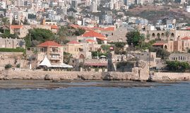 Stadtbild von Beirut. Lizenzfreies Stockfoto