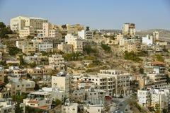 Stadtbild von Bethlehem, Palästina Lizenzfreies Stockbild
