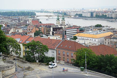 Stadtbild von Budapest Lizenzfreies Stockfoto