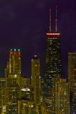 Stadtbild von Chicago Illinois Lizenzfreies Stockfoto