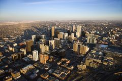 Stadtbild von Denver, Kolorado, USA. Lizenzfreie Stockbilder