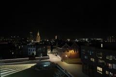 Stadtbild von Enschede die Niederlande Stockbild
