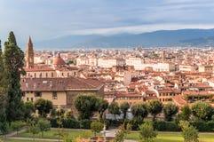 Stadtbild von Florenz, Itely Stockbild