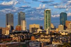 Stadtbild von Fort Worth Texas Lizenzfreies Stockfoto