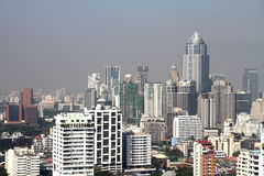 Stadtbild von im Stadtzentrum gelegenem Bangkok Lizenzfreie Stockbilder