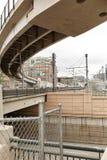 Stadtbild von im Stadtzentrum gelegenem Denver, Colorado stockbild