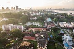 Stadtbild von Johor Bahru Stockfoto