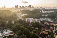 Stadtbild von Johor Bahru Lizenzfreie Stockfotos