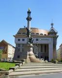 Stadtbild von Lemberg am 9. Mai 2014 Lizenzfreies Stockbild