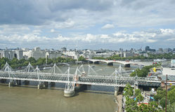 Stadtbild von London Stockbilder