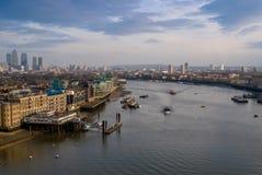 Stadtbild von London, England Lizenzfreie Stockfotos