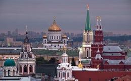 Stadtbild von Moskau Stockfotos