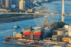 Stadtbild von Osaka Bay Lizenzfreies Stockfoto