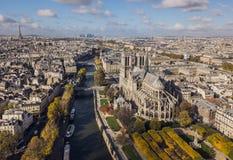 Stadtbild von Paris Lizenzfreie Stockfotografie