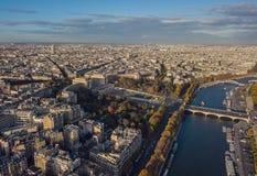 Stadtbild von Paris Lizenzfreie Stockbilder