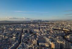 Stadtbild von Paris Stockfotos