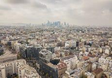 Stadtbild von Paris Stockfoto