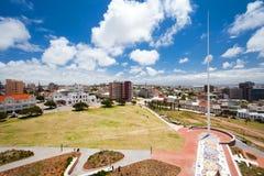 Stadtbild von Port Elizabeth stockbild