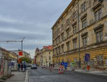 Stadtbild von Prag, Czechia stockbild