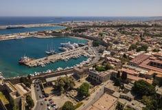 Stadtbild von Rhodos Lizenzfreie Stockfotos
