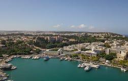 Stadtbild von Rhodos Lizenzfreie Stockbilder