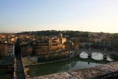 Stadtbild von Rom Stockfotografie
