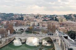 Stadtbild von Rom Lizenzfreie Stockfotografie