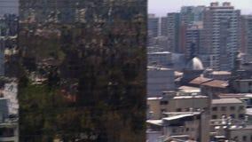 Stadtbild von Santiagode Chile stock video footage