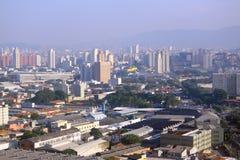 Stadtbild von Sao Paolo, Brasilien Stockfotos