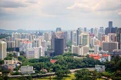 Stadtbild von Singapur Stockfotografie