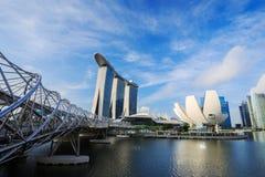 Stadtbild von Singapur-Stadt lizenzfreie stockbilder