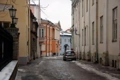 Stadtbild von Tallinn Stockbilder