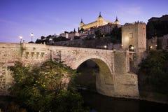 Stadtbild von Toledo Lizenzfreies Stockbild