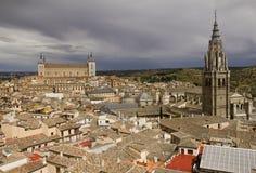 Stadtbild von Toledo, Spanien Stockbilder
