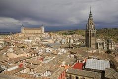 Stadtbild von Toledo, Spanien Stockbild