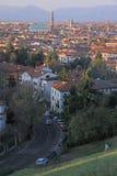 Stadtbild von Vicenza, Nord-Italien Stockfotografie