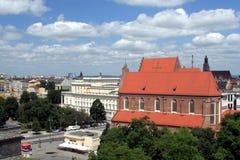 Stadtbild von Wroclaw Stockfotos