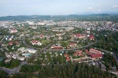 Stadtbild von yala Stadt, Thailand stockfotos