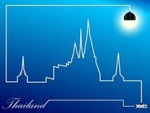 Stadtbild Wat Thailand Lizenzfreie Stockfotografie