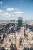 Stadtbildansicht von im Stadtzentrum gelegenem Boston Lizenzfreie Stockfotografie