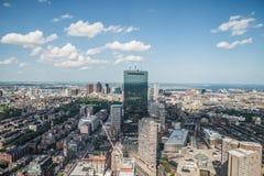 Stadtbildansicht von im Stadtzentrum gelegenem Boston Stockfotografie