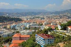 Stadtbildansicht von Nizza. Lizenzfreies Stockbild