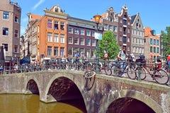 Stadtbilder im Rotlichtviertel von Amsterdam lizenzfreies stockfoto