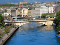 Stadtbrücke Stockfoto