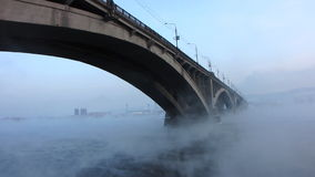 Stadtbrücke. stock footage