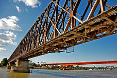 Stadtbrücken Stockfoto