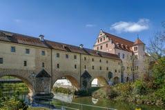Stadtbrille, Amberg, Deutschland Lizenzfreie Stockfotos